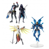 "Hasbro Overwatch Ultimates Dual Pack 6"" Action Figure Set of 2 Mercy & Pharah, Ana & Soldier 76"