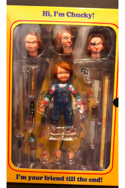 Child's Play Neca Ultimate Chucky Action Figure (AF02)