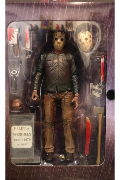 """Friday The 13th The Final Chapter Neca Ultimate 7"""" Jason Voorhees Action Figure (AF04)"""