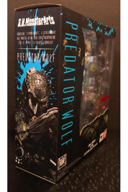 Bandai S.H.Monsterarts AvP Predator Wolf Action Figure (AF07)
