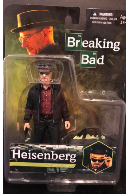 Breaking Bad Mezco Toyz Heisenberg Action Figure (AF16)