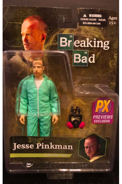 Breaking Bad Mezco Toyz Jesse Pinkman PX Exclusive Action Figure (AF17)