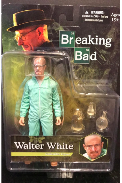 Breaking Bad Mezco Toyz Walter White Action Figure (AF18)