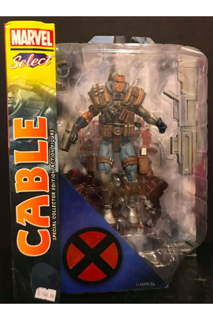 Marvel Select Diamond Select Toys X-Men Cable Action Figure (AF41)