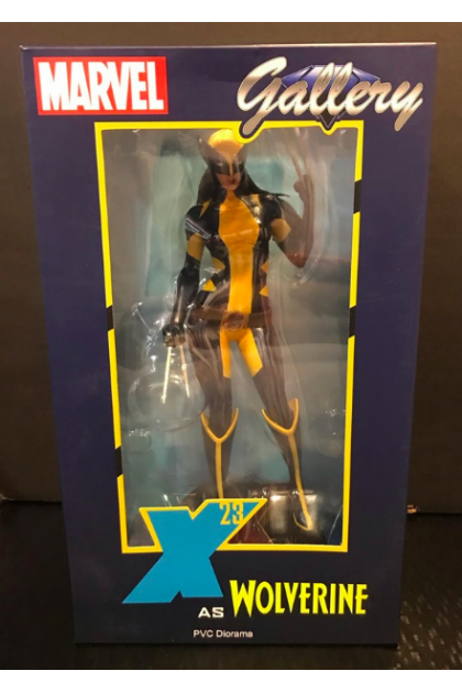 DC Gallery Diamond Select Toys X-Men X-23 as Wolverine PVC Statue (STT05)