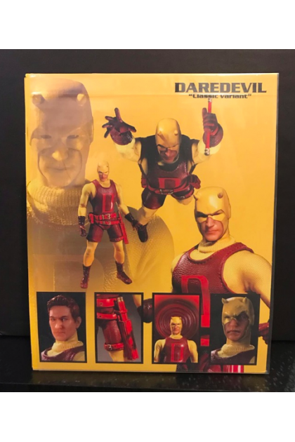 Marvel Mezco Toyz One:12 Collective Daredevil Classic Variant PX Exclusive Action Figure (AF72)