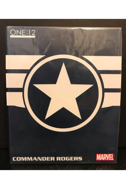 Marvel Captain America Mezco Toyz One:12 Collective Commander Rogers Action Figure (AF76)
