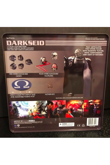 DC Comics Mezco Toyz One:12 Collective Darkseid Action Figure (AF78)