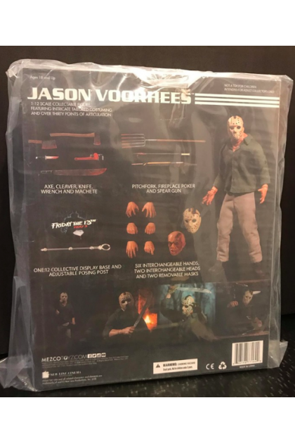 Friday The 13th Part 3 Mezco Toyz One:12 Collective Jason Voorhees Action Figure (AF83)