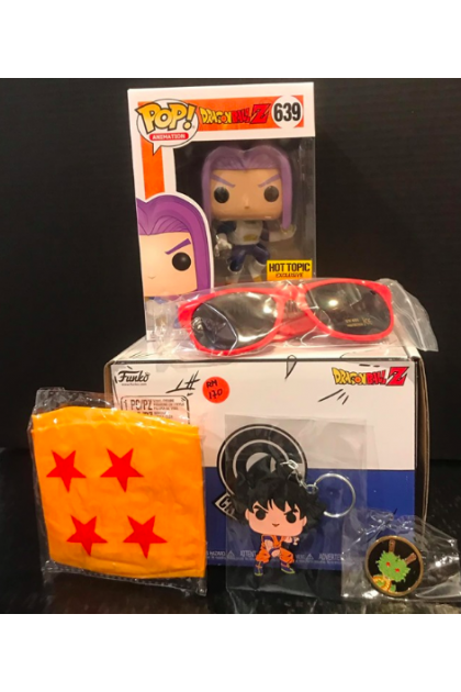 Dragon Ball Z Capsule Corp. Box Set Future Trunks Funko Pop! Hot Topic Exclusive #639 (VINYL68)