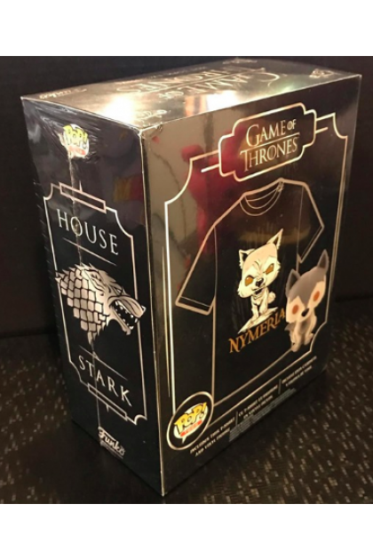 Game of Thrones Nymeria Box Set Funko Pop! with T-Shirt Hot Topic Exclusive S Size (VINYL74)