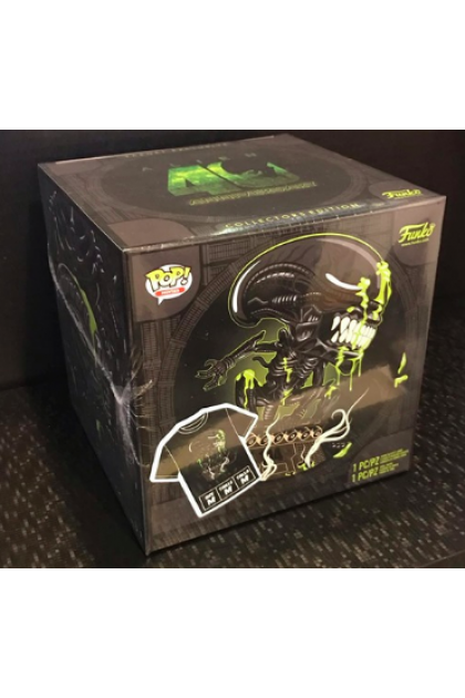 Alien 40th Anniversary Box Set Funko Pop! with T-Shirt Target Exclusive M Size (VINYL76)