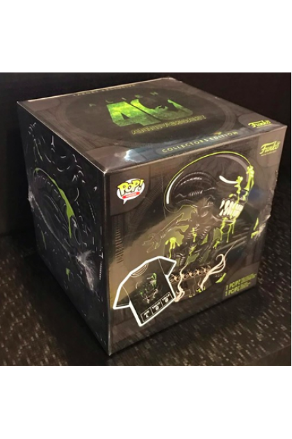 Alien 40th Anniversary Box Set Funko Pop! with T-Shirt Target Exclusive L Size (VINYL77)