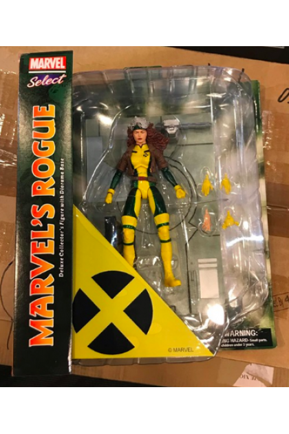 X-Men Marvel Select Diamond Select Toys Rogue Action Figure (AF92)