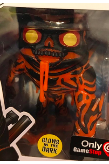Marvel Spider-Man Far From Home Molten Man GITD Funko Pop! #474 GameStop Exclusive (VINYL237)
