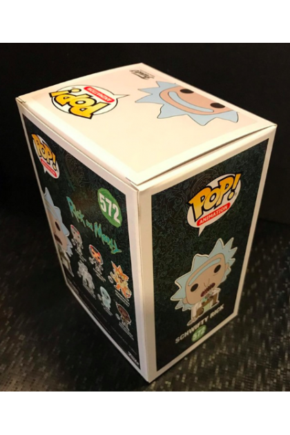Rick and Morty Schwifty Rick Funko Pop! #572 Hot Topic Exclusive (VINYL250)