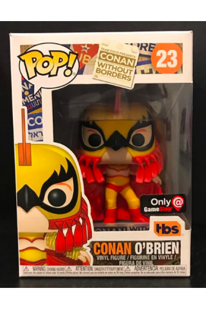 Conan O'Brien Luchador Conan Funko Pop! #23 GameStop Exclusive (VINYL255)