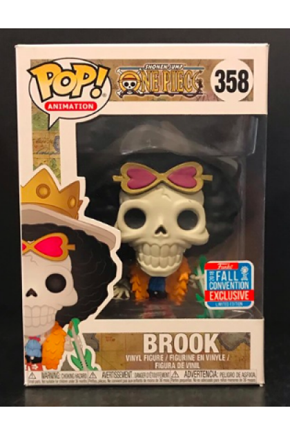 One Piece Brook Funko Pop! #358 Fall Convention 2018 Exclusive (VINYL257)
