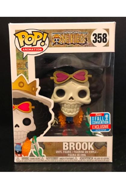 One Piece Brook Funko Pop! #358 Fall Convention 2018 Exclusive (VINYL258)