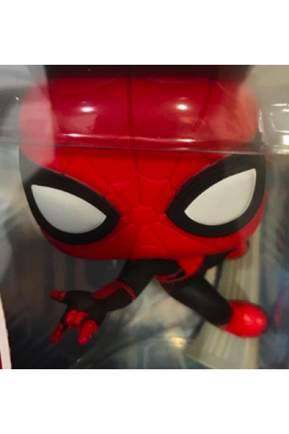 Marvel Spider-Man Far From Home Spider-Man Upgraded Suit Funko Pop! #470 (VINYL261)