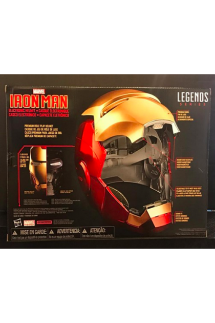 Marvel Legends Series Hasbro Iron Man Helmet Prop Replica (PREP06)