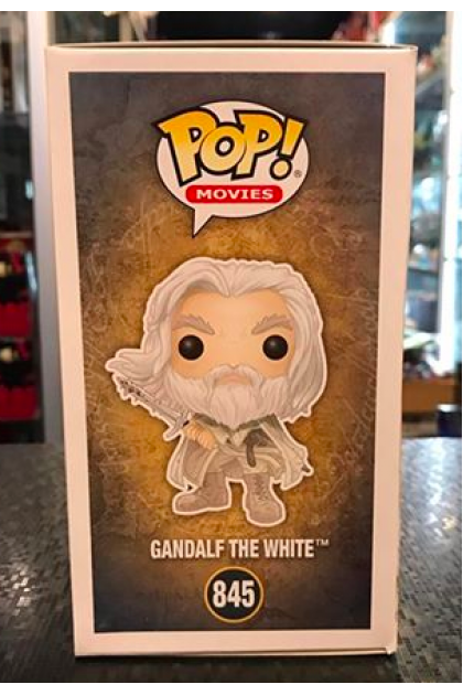 Funko Pop The Lord of The Rings Gandalf The White #845 Hot Topic Exclusive (VINYL896)