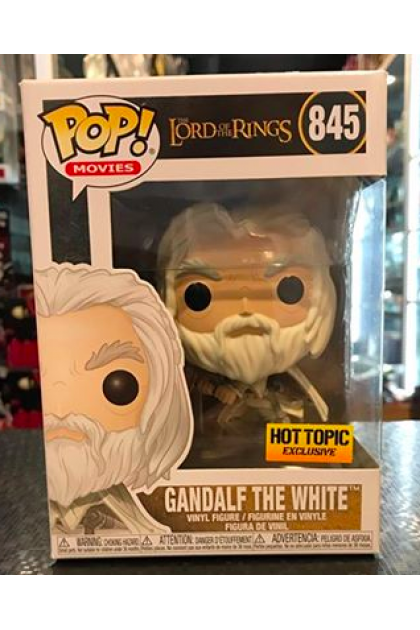 Funko Pop The Lord of The Rings Gandalf The White #845 Hot Topic Exclusive (VINYL897)