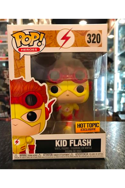Funko Pop Kid Flash #320 Hot Topic Exclusive (VINYL903)