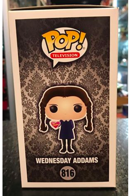 Funko Pop Addams Family Wednesday Addams #816 Hot Topic Exclusive (VINYL904)