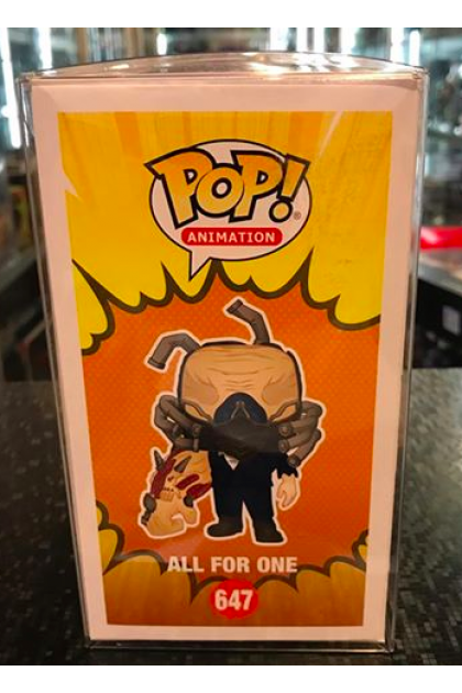 Funko Pop My Hero Academia All For One Charged #647 Fugitive Toys Exclusive (VINYL905)