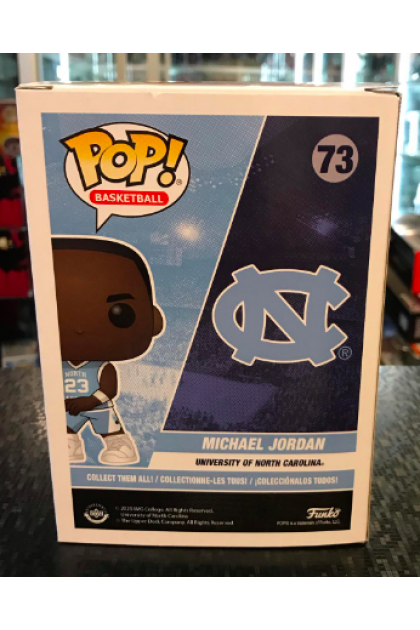 Funko Pop North Carolina Michael Jordan #73 Walmart Exclusive (VINYL913)