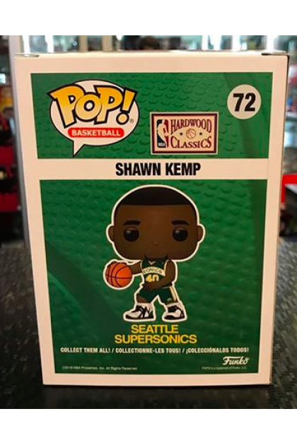 Funko Pop NBA Seattle Supersonics Shawn Kemp #72 Spring Convention 2020 Exclusive (VINYL914)