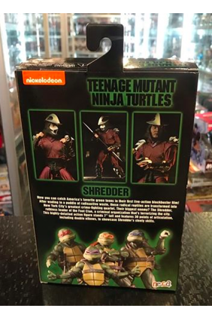 Neca TMNT Shredder Action Figure GameStop Exclusive (AF246)