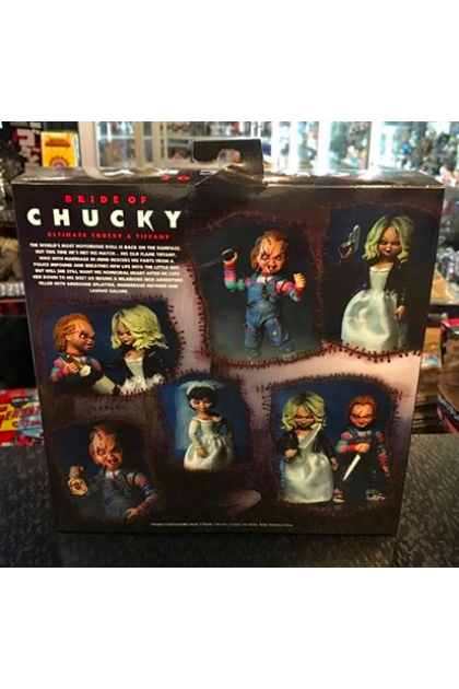 Child's Play Neca Ultimate Bride of Chucky Tiffany & Chucky 2 Pack Action Figure (AF250)