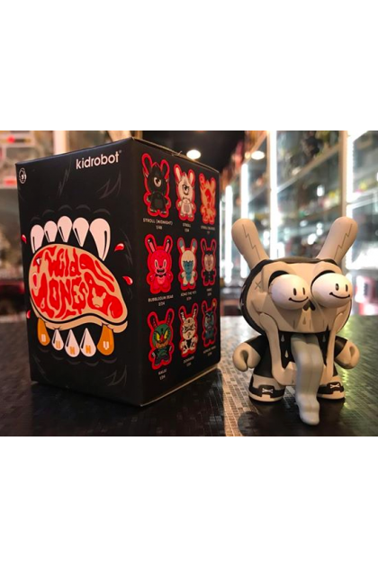 Kidrobot The Wild Ones Dunny Series Hype Death Now CHASE Vinyl Mini Figure by Kronk (ART98)