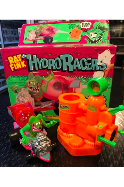 Kenner Rat Fink Hydro Racers Vehicle & Accessory USED (AF253)