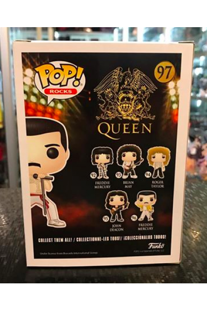 Funko Pop Rocks Queen Freddie Mercury #97 FYE Exclusive (VINYL937)