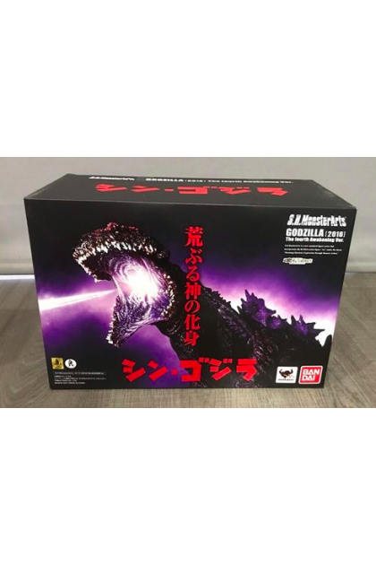 (DISPLAY UNIT) Bandai S.H.Monsterarts Shin Godzilla 2016 The Fourth Awakening Ver. Action Figure (AF302)