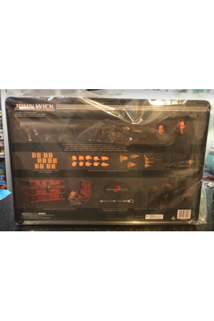 Mezco Toyz One:12 Collective John Wick Chapter 2 Deluxe Edition Action Figure (AF311)