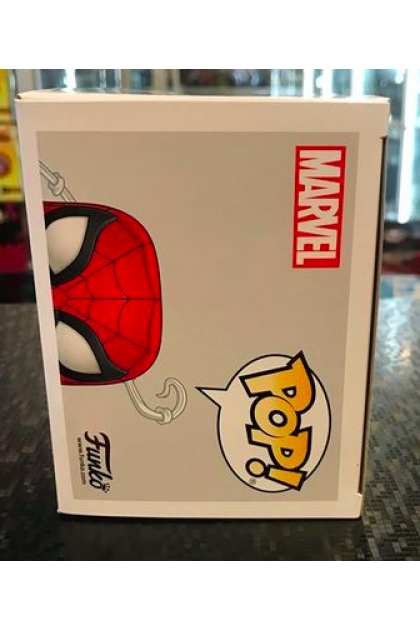Marvel Spider-Man with Pizza Funko Pop! #672 BoxLunch Exclusive (VINYL1098)