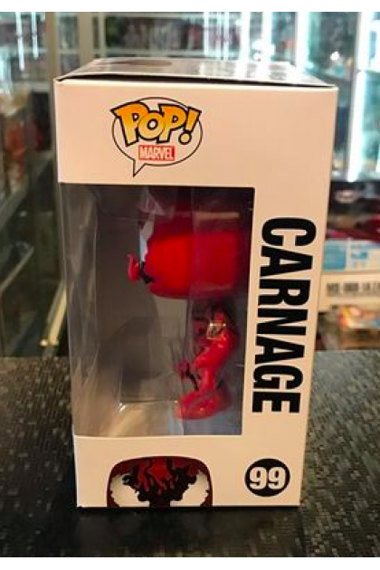Marvel Carnage Funko Pop! #99 Hot Topic Exclusive (VINYL1106)