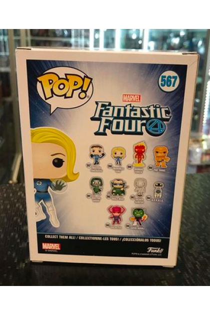 Marvel Fantastic Four Invisible Girl Funko Pop! #567 GameStop Exclusive (VINYL1113)