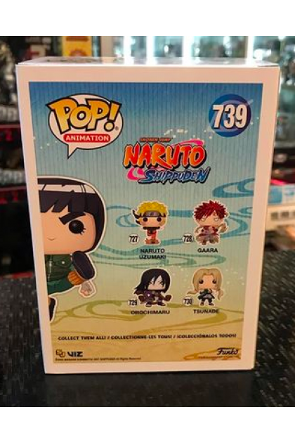 Funko Pop Naruto Shippuden Rock Lee #739 Hot Topic Exclusive (VINYL1121)