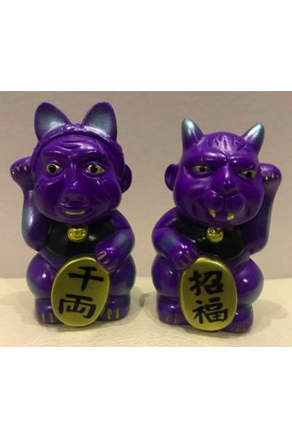 Blood Guts Toys Angel Abby Invited Father Purple Set of 2 (ART133)