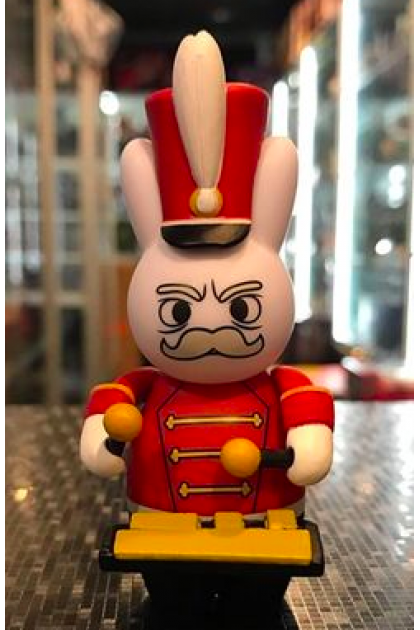 Kidrobot Band Camp 3000 Vinyl Labbits The Marching Hares Major Trouble (ART137)