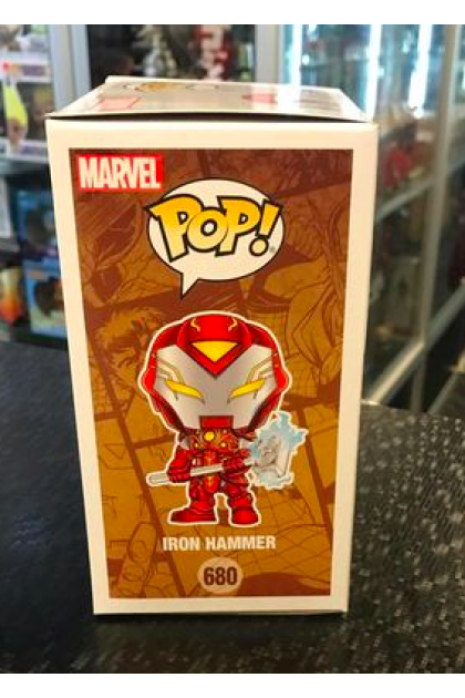 Funko Pop Infinity Warps Iron Hammer #680 Walgreens Exclusive (VINYL1229)