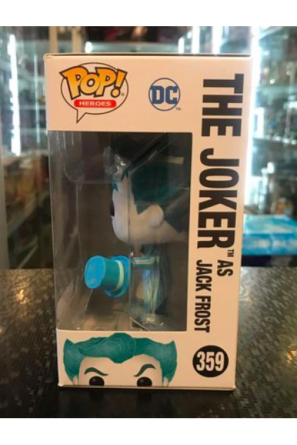 Funko Pop DC Super Heroes The Joker as Jack Frost #359 Target Exclusive (VINYL1247)