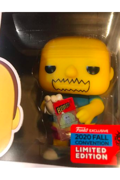 Funko Pop The Simpsons Comic Book Guy #832 Fall Convention 2020 Exclusive (VINYL1251)