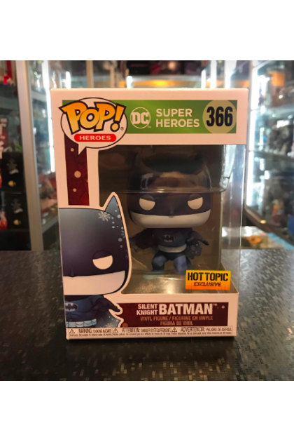 DC Super Heroes Silent Knight Batman Funko Pop! #366 Hot Topic Exclusive (VINYL1341)
