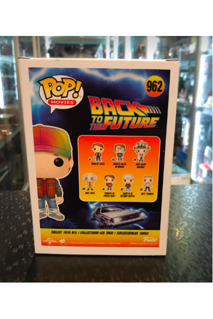 Back To The Future Marty In Future Outfit Funko Pop! #962 Target Exclusive (VINYL1352)
